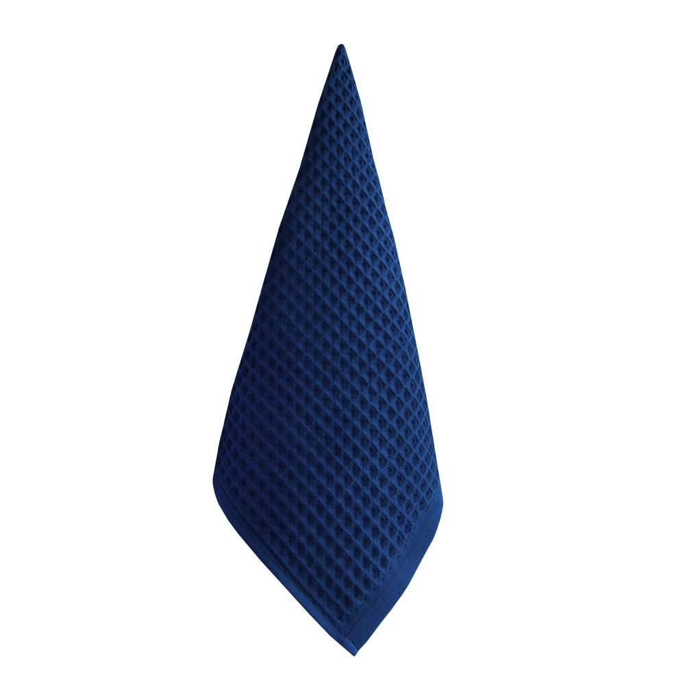 Полотенце вотекс бохо 67x140, синий, хлопок 100%,