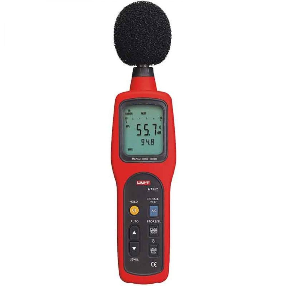 Цифровой измеритель уровня шума uni-t ut352 шумомер 30 to 130db 00-00001290