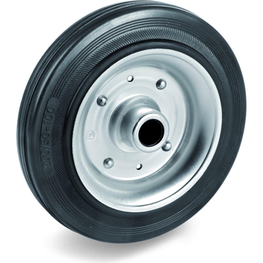 Купить Колесо для тележки под ось (100 мм; 80 кг) tellure rota 533122