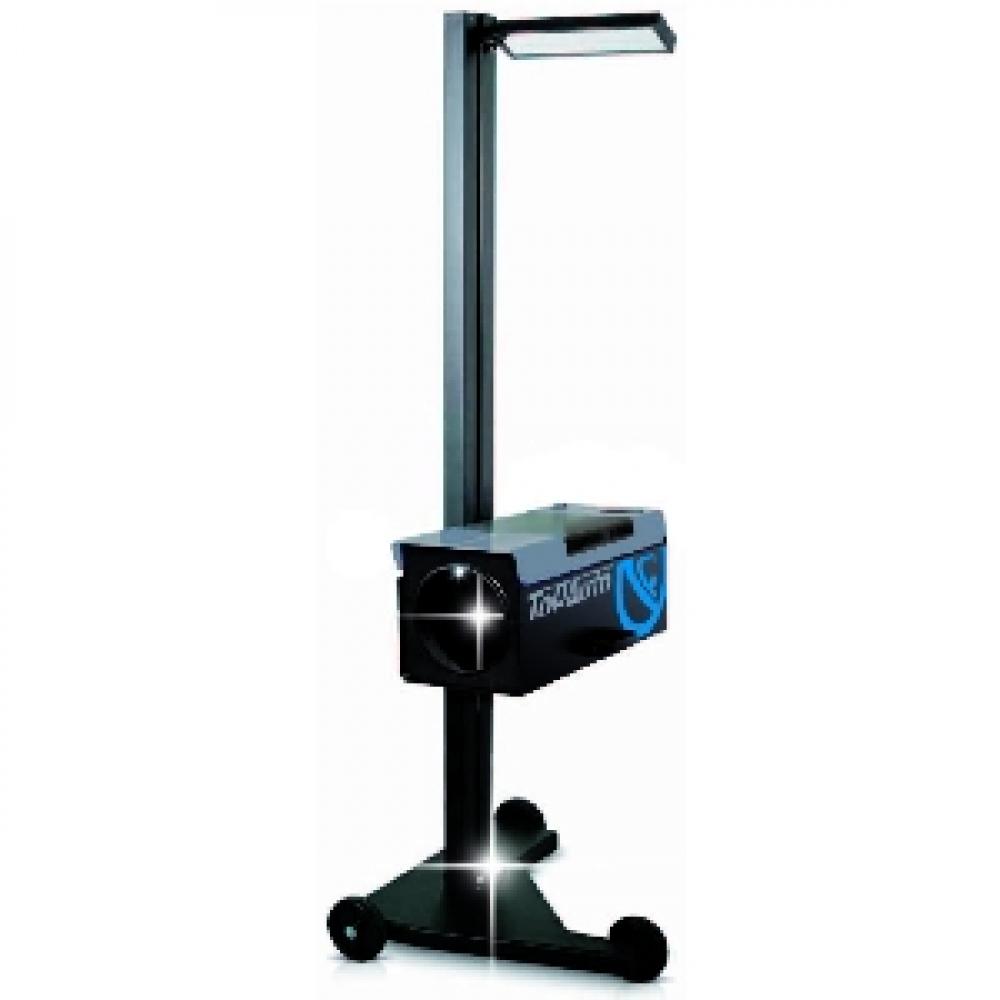 Купить Прибор контроля и регулировки света фар с наводчиком top-auto усиленный, синий цвет hba26dz
