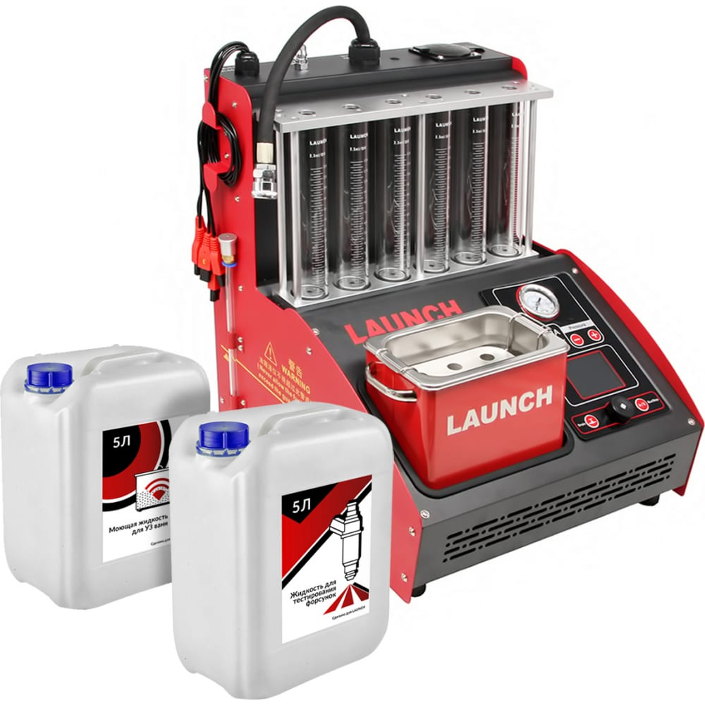 Купить Установка для тестирования и очистки форсунок launch cnc-603a new lnc-032