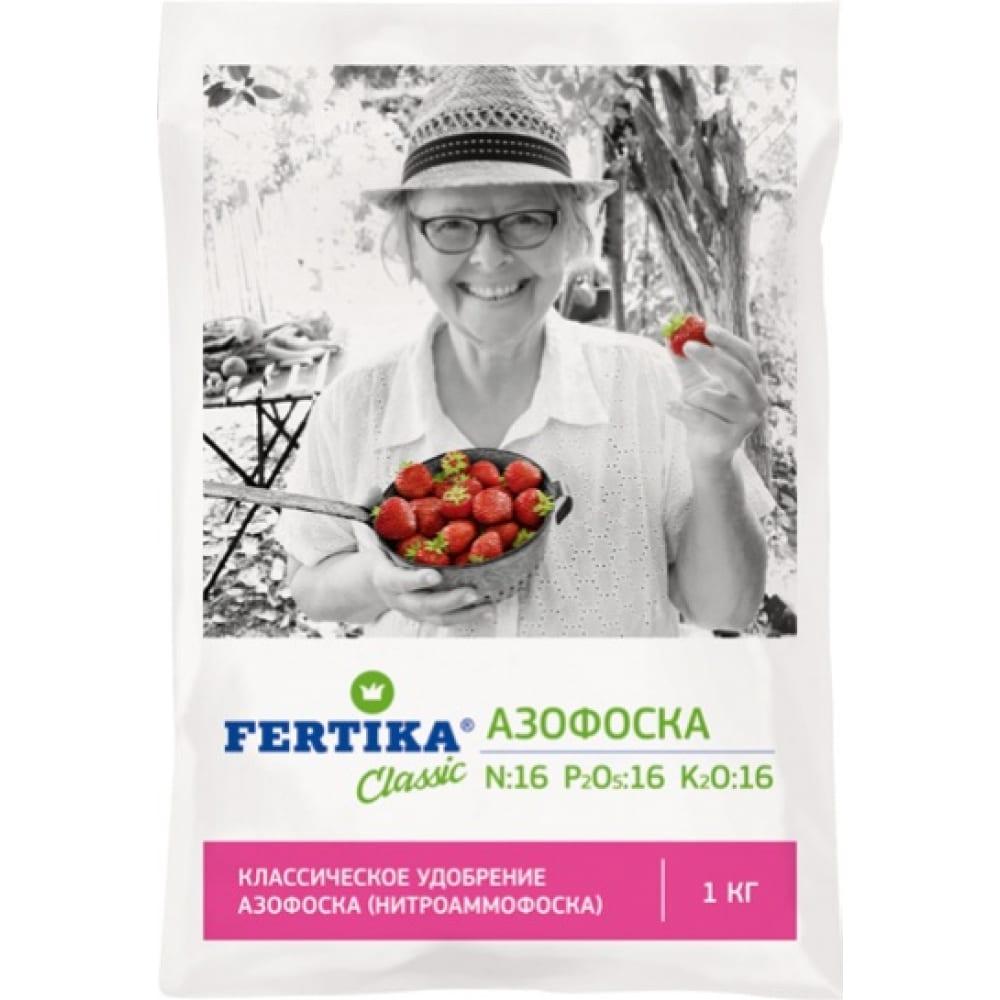 Минеральное удобрение fertika азофоска 1 кг 4620005610293
