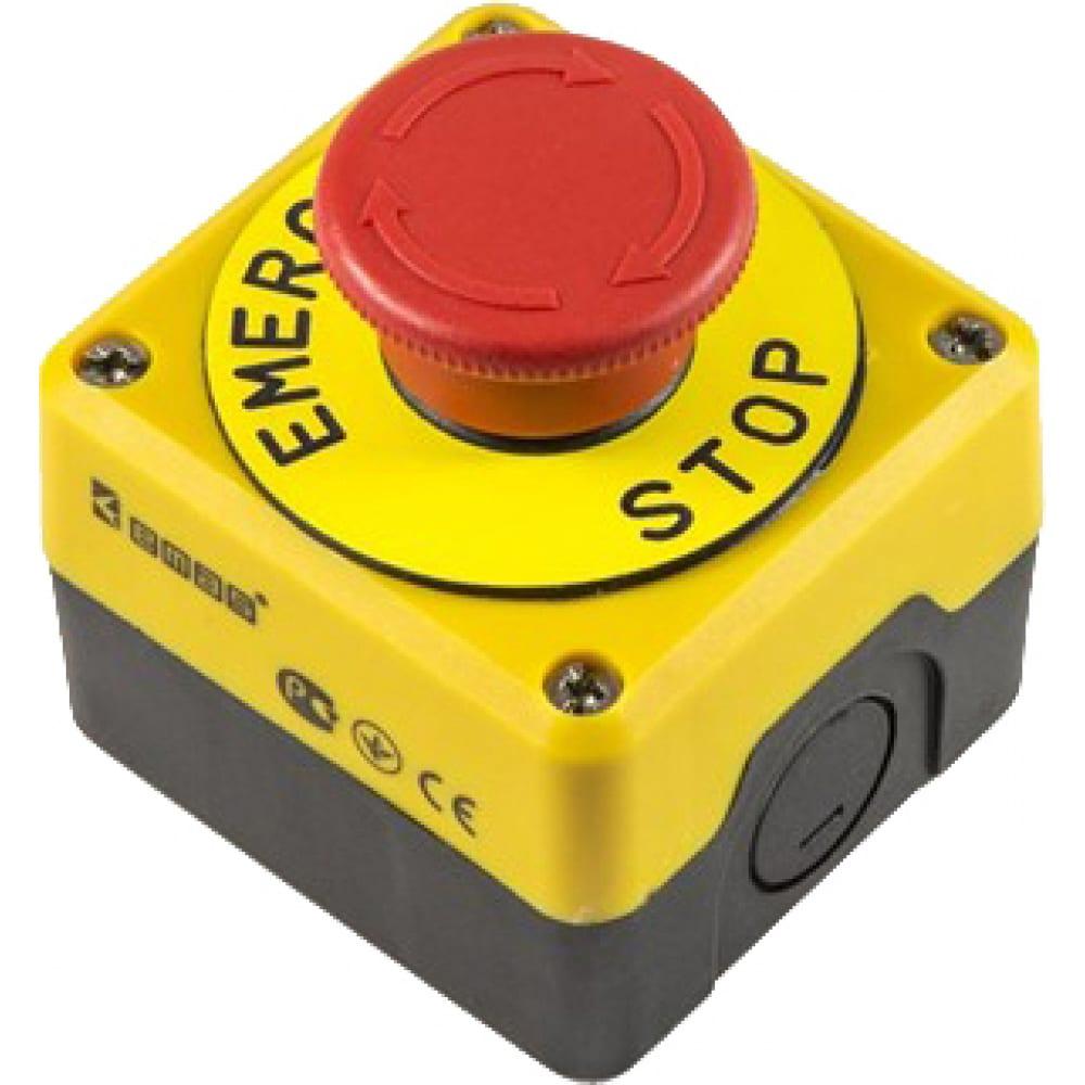 Пульт управления emas с табличкой аварийной кнопки,
