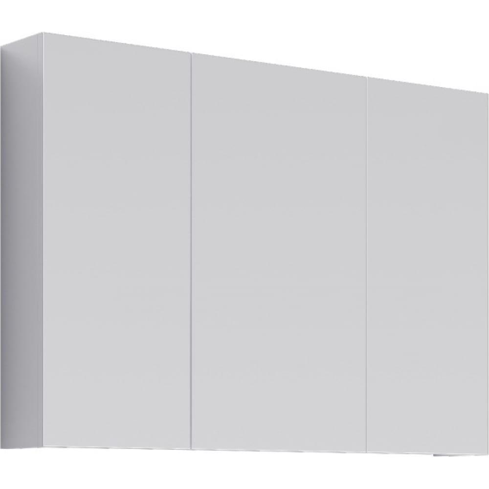 Купить Шкаф-зеркало aqwella мс цвет белый мс.04.10