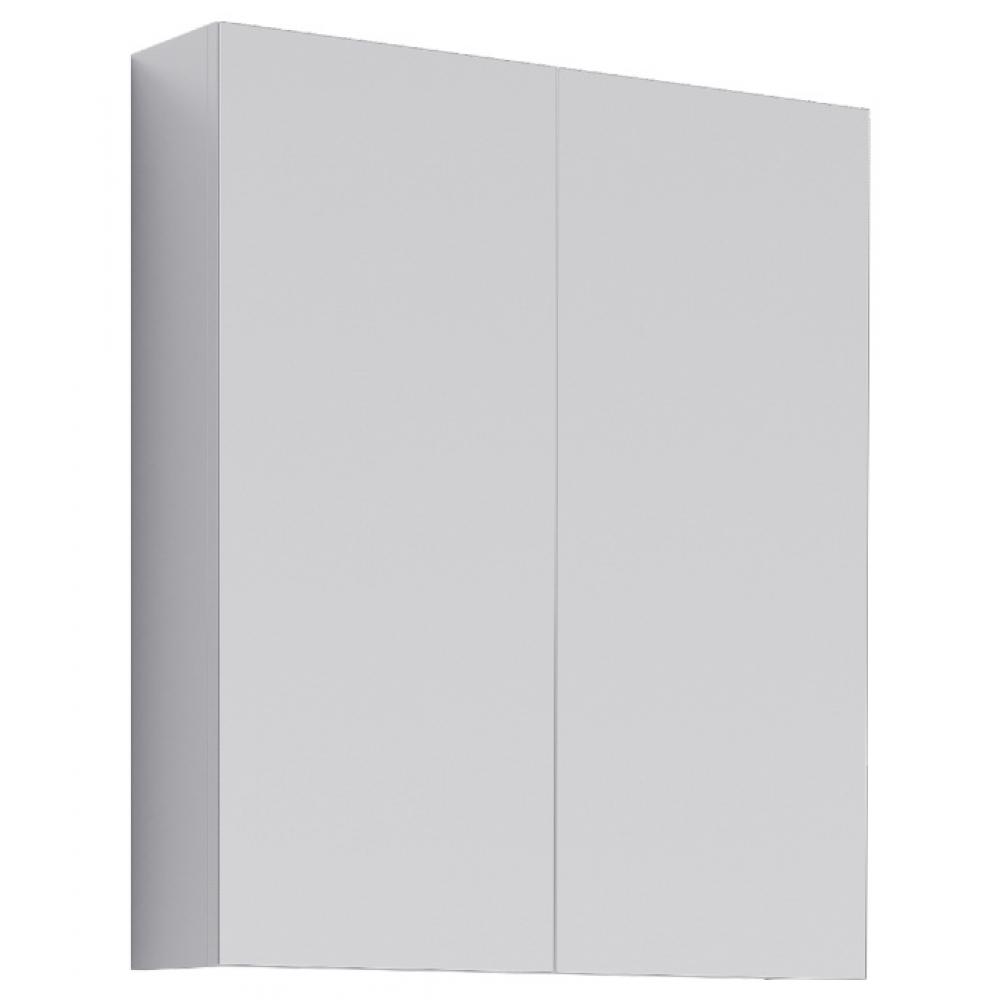 Купить Шкаф-зеркало aqwella мс цвет белый мс.04.06