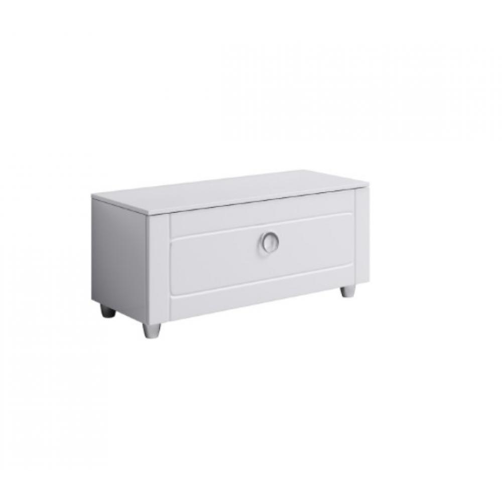 Купить Напольная тумба с ящиком aqwella инфинити, цвет белый inf.03.10