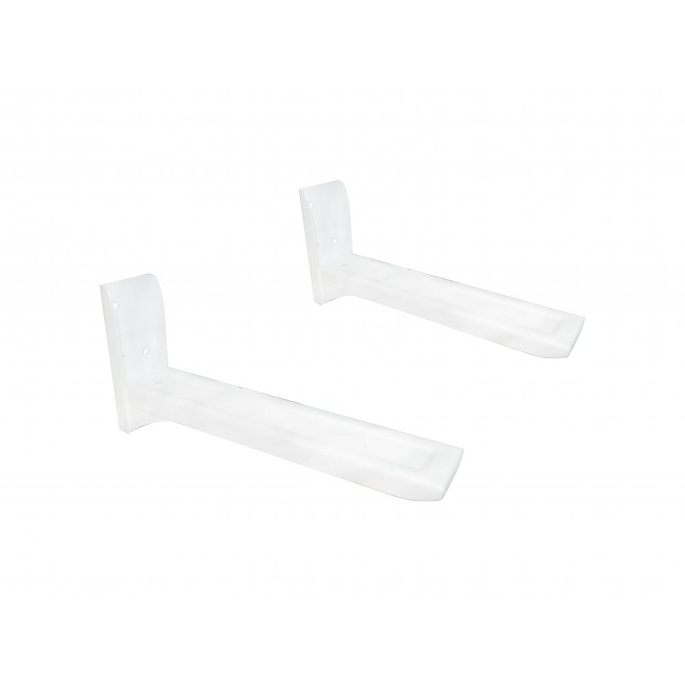 Купить Кронштейн для свч с регулировкой длины mfk-torg 274мм-405мм белый пара с-7б
