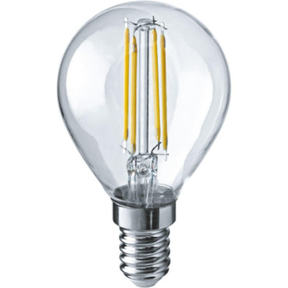 Лампа navigator nll-f-g45-4-230-2.7k-e14 71309