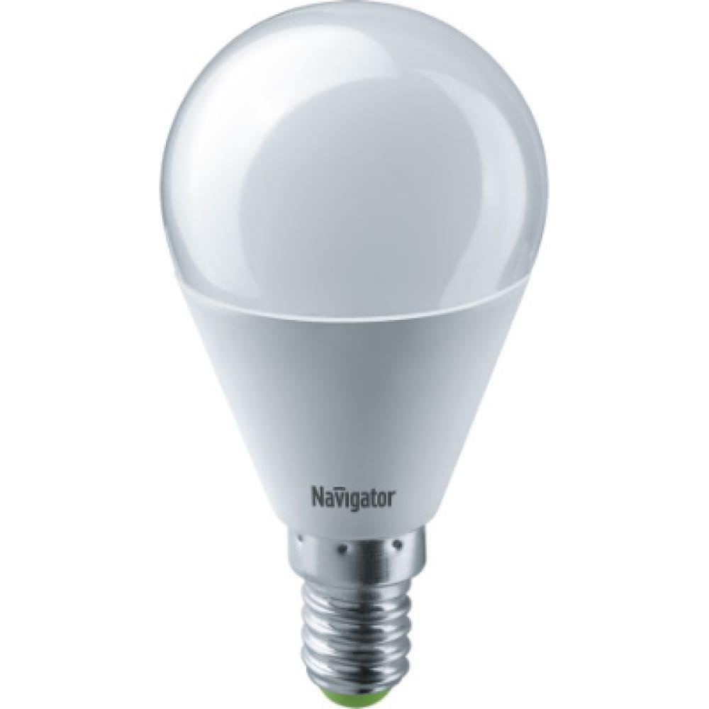 Лампа navigator nll-g45-8.5-230-6.5k-e14 61335