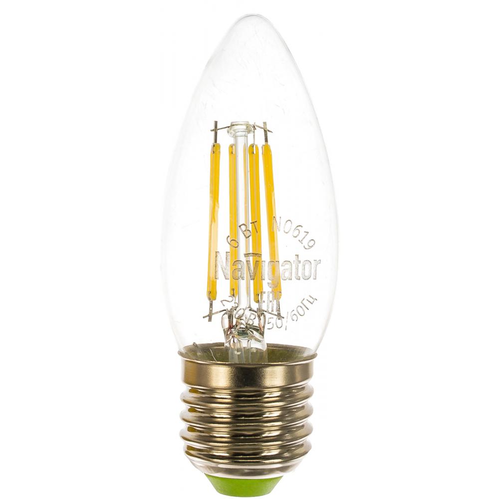 Лампа navigator nll-f-c35-6-230-4k-e27 14008
