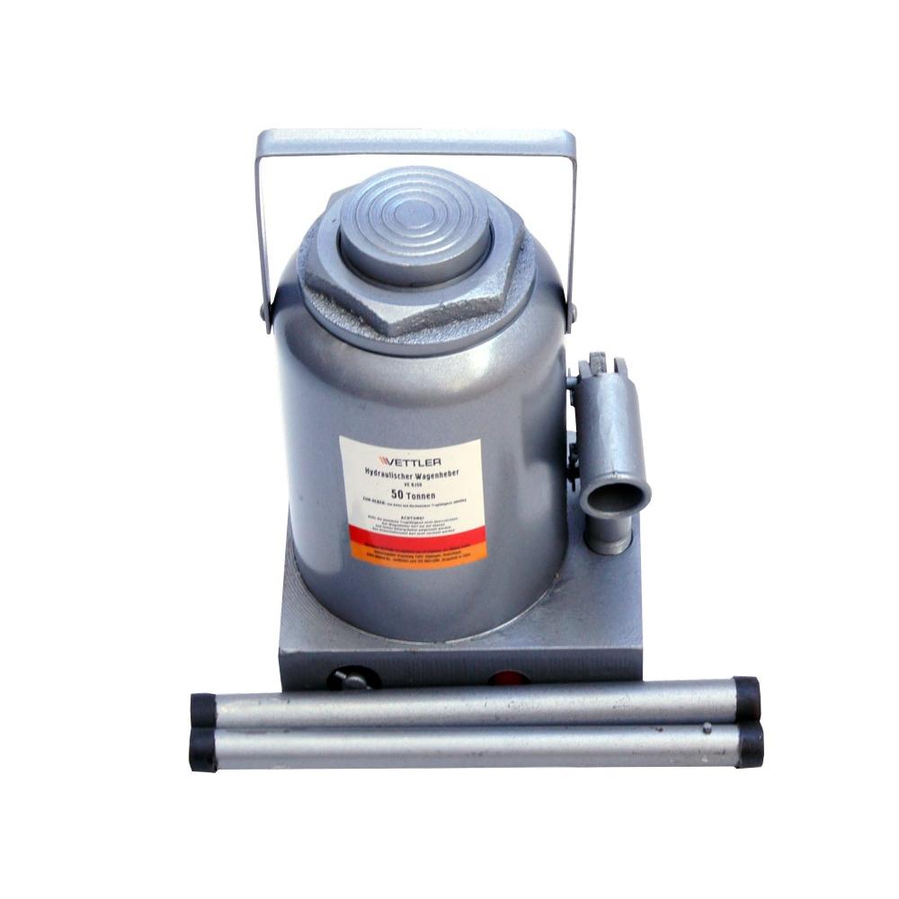 Купить Гидравлический домкрат vettler 50т бутылочный 260x415 vebj50