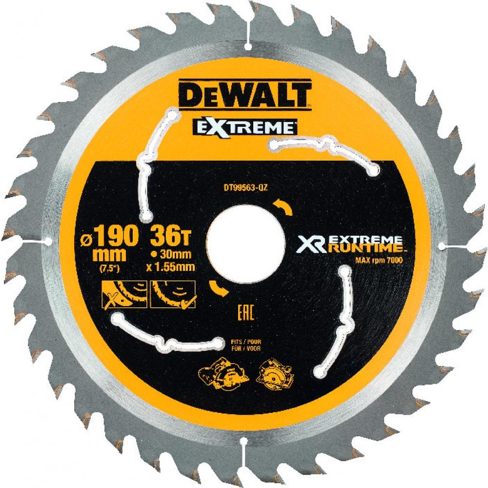 Купить Диск пильный xr (190х30 мм) dewalt dt99563-qz