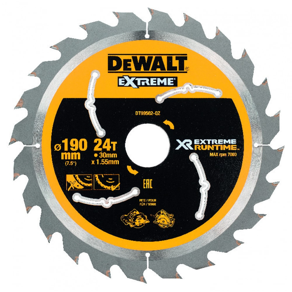 Купить Диск пильный xr (190х30 мм) dewalt dt99562-qz