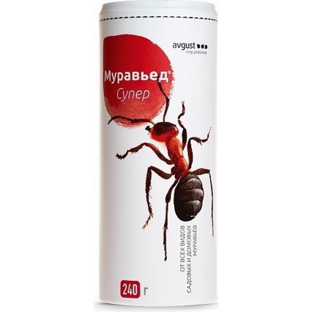 Купить Гранулы против садовых и домовых муравьев avgust муравьед супер 240 г 41149