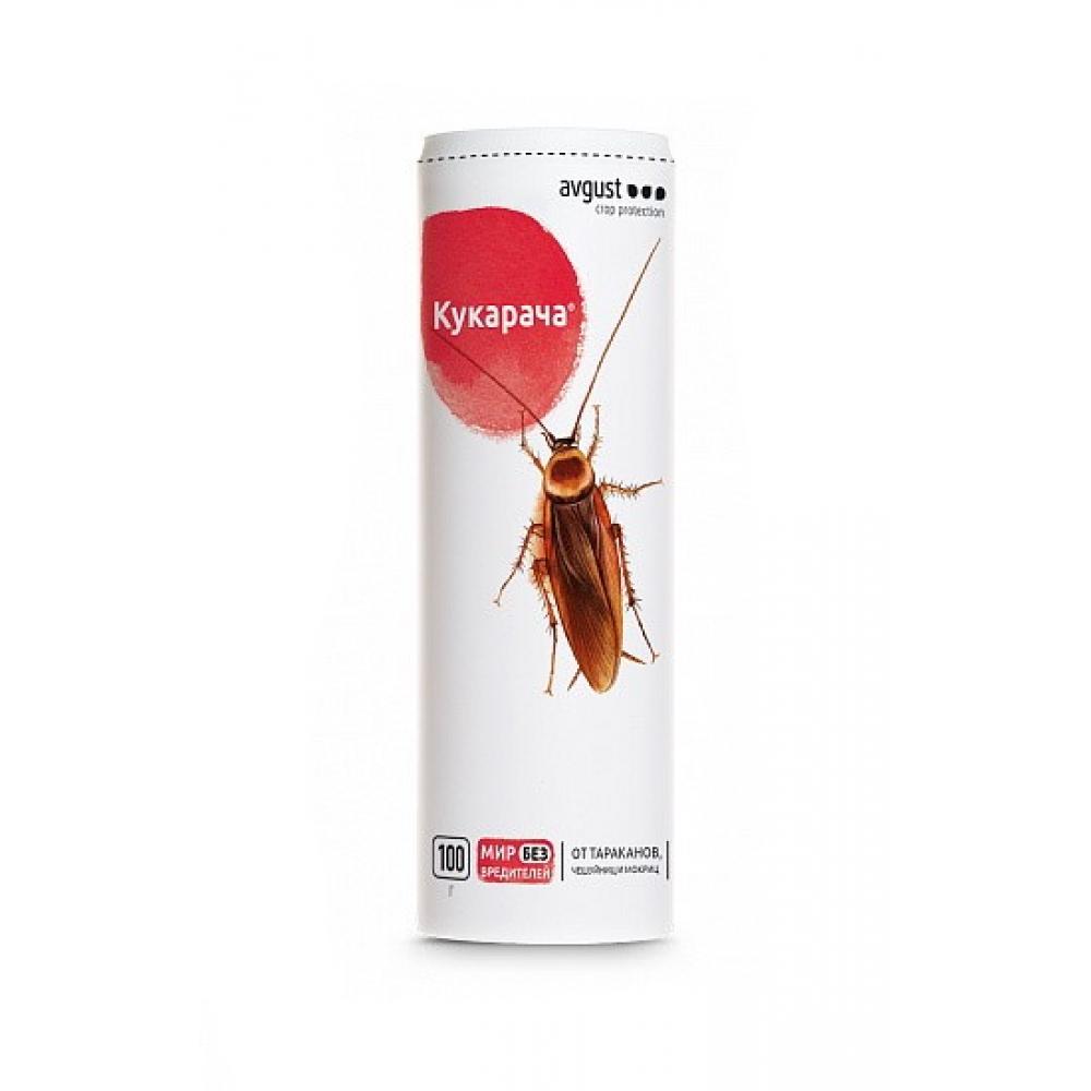 Купить Гранулы от тараканов и мокриц avgust кукарача 100 г 10941