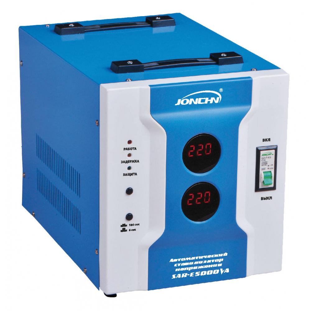 Однофазный стабилизатор напряжения jonchn sar-e5000va