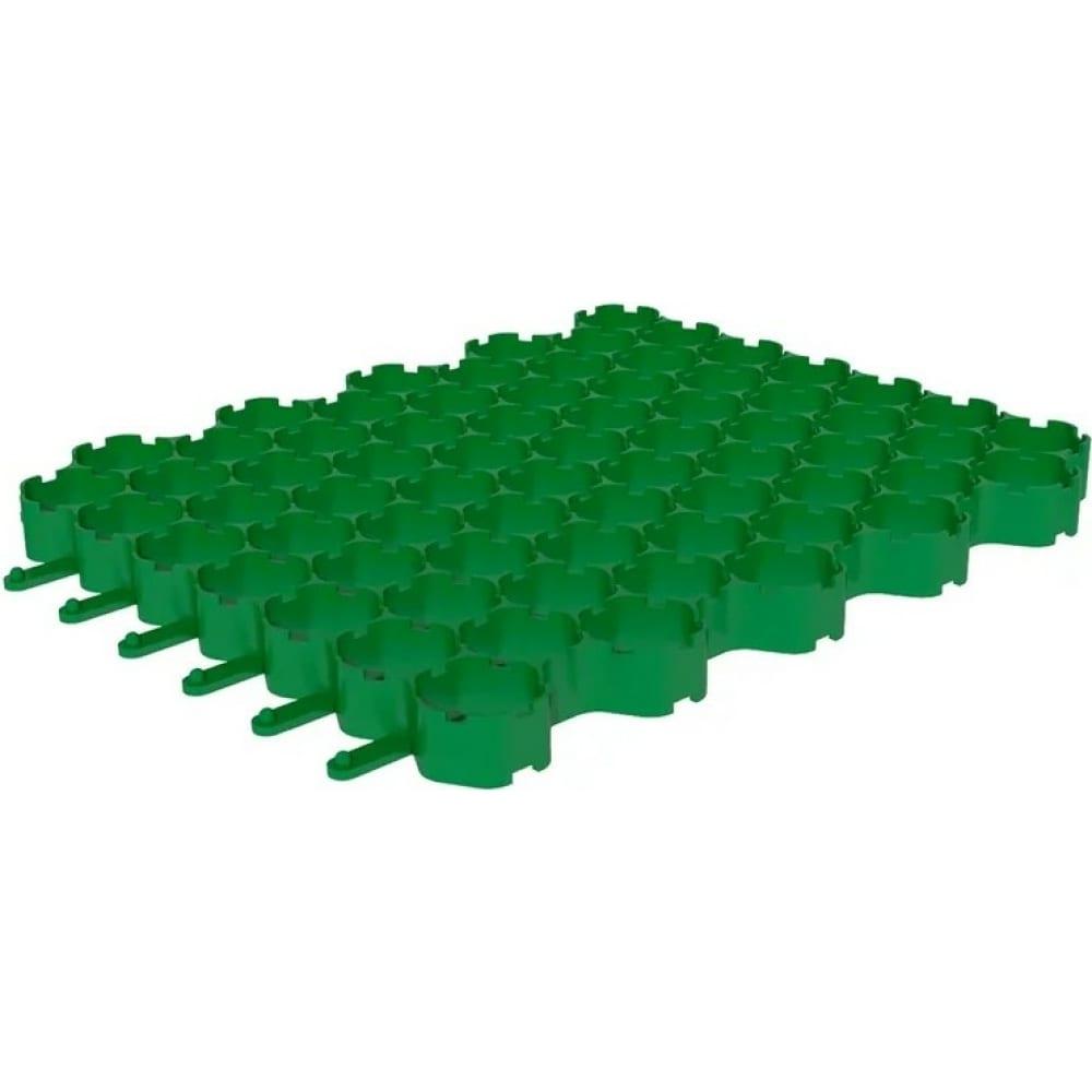 Купить Газонная решетка gidrolica 53х43х3, 5 см - пластиковая зеленая клетка с250 609