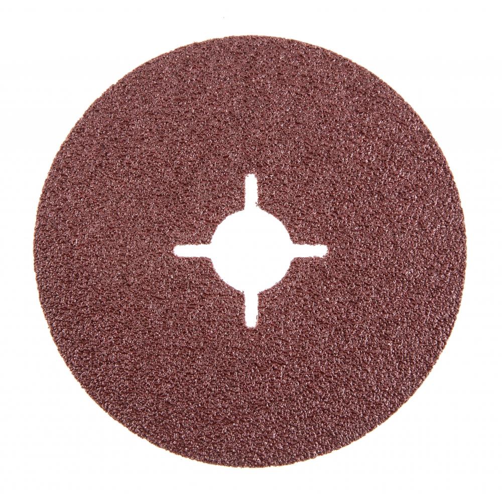 Купить Круг шлифовальный фибровый flex 243-002 (5 шт; 115 мм; p40; 13000 об/мин; 80 м/с) hammer 526831