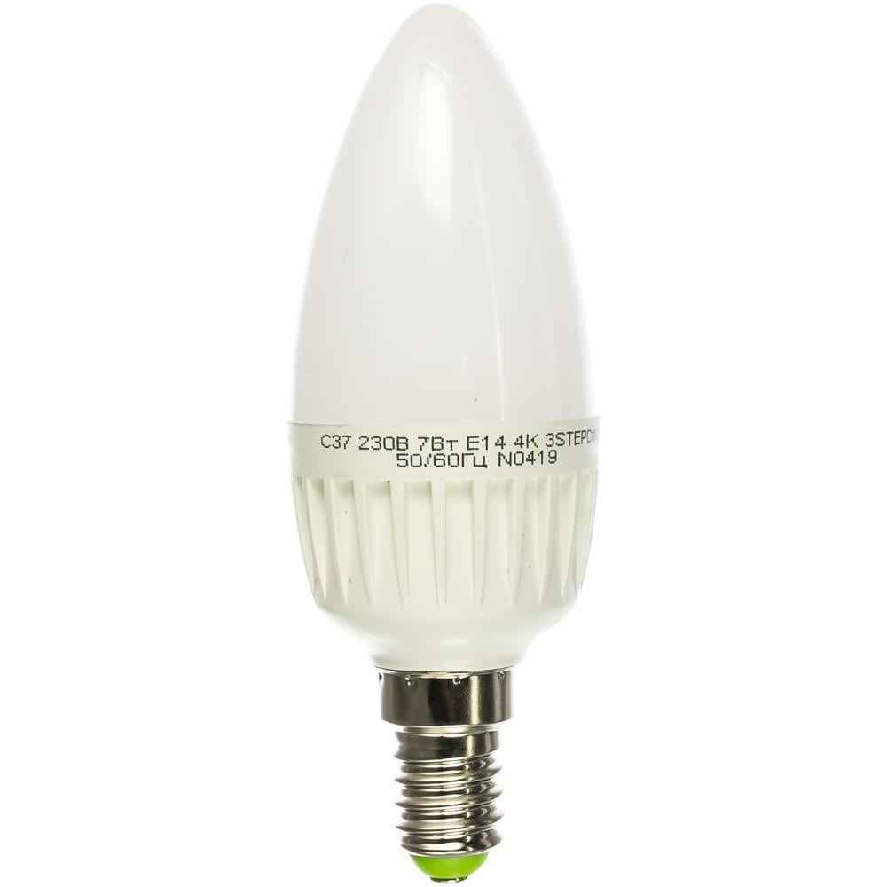 Лампа navigator, nll-c37-7-230-4k-e14-3stepdimm 61652