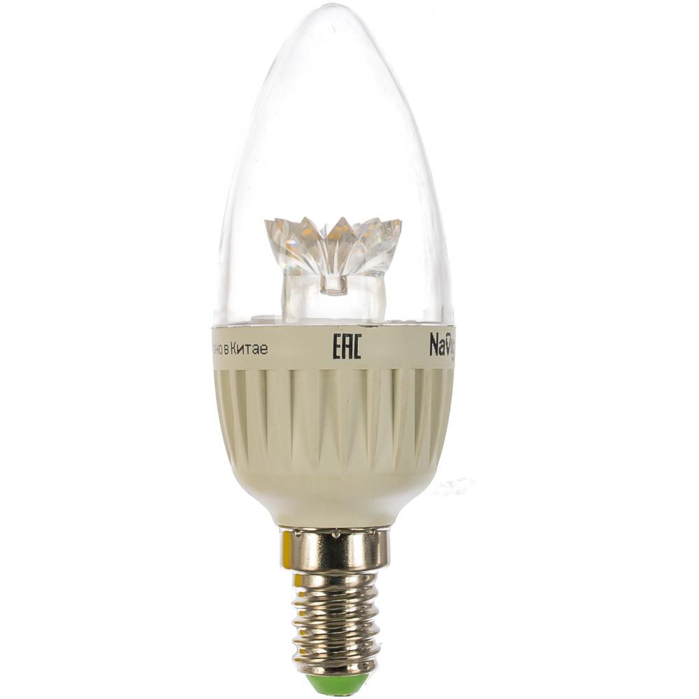 Лампа navigator, nll-c37-7-230-4k-e14-cl 71853