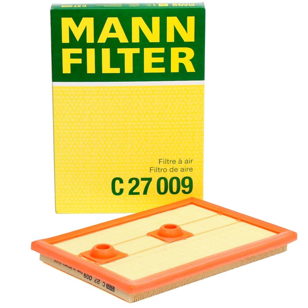 Фильтр воздушный audi a3/vw golf mann-filter 12- c27009