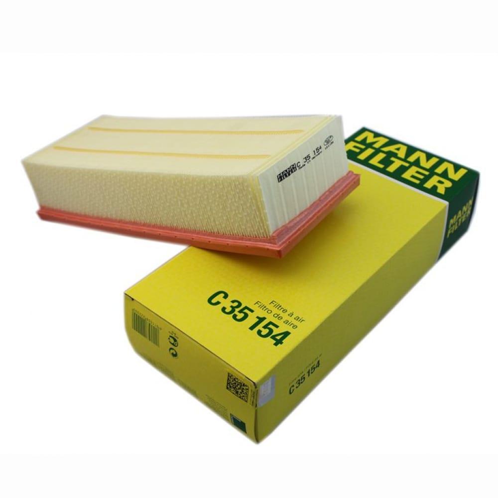 Фильтр воздушный audi, skoda, vw, seat mann-filter c35154