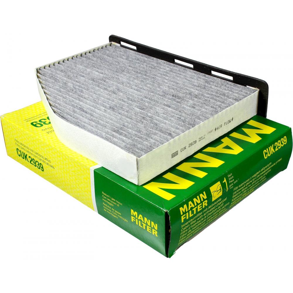 Фильтр воздушный audi, skoda, vw, seat mann-filter cuk2939