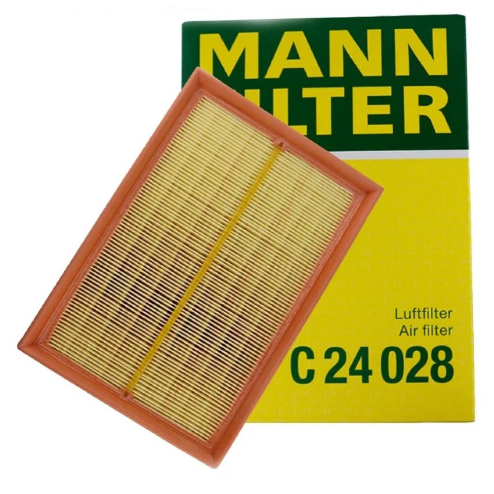 Фильтр воздушный chevrolet aveo 1.2-1.6 mann-filter c24028