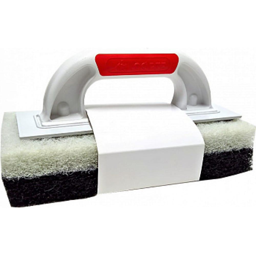 Купить Набор запасных тёрок для удаления эпоксидной затирки чёрная-жёсткая/белая-мягкая corte 0361c