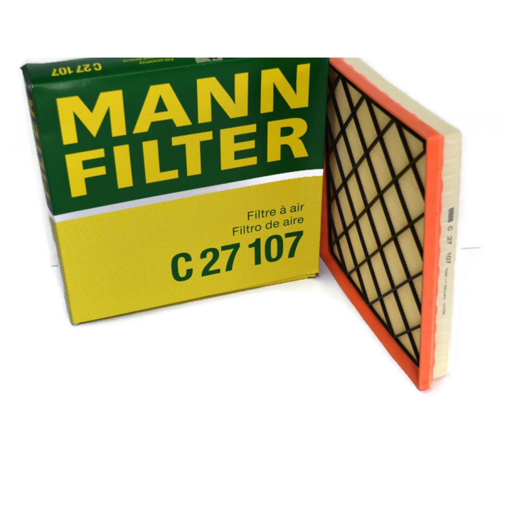 Фильтр воздушный chevrolet europe, daewoo, opel mann-filter c27107