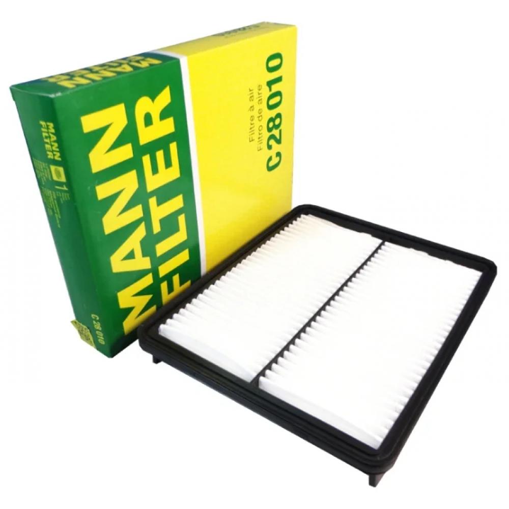 Фильтр воздушный kia sorento/hyundai santa fe 2.4 09 c 28 010 mann mann-filter c28010