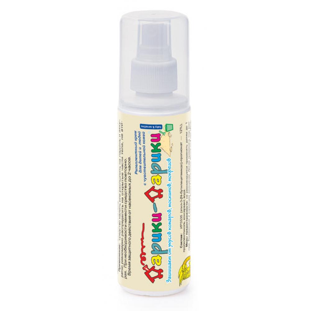 Купить Спрей от комаров дарики-дарики для детей от 2-х лет, 125 мл 4607043203854
