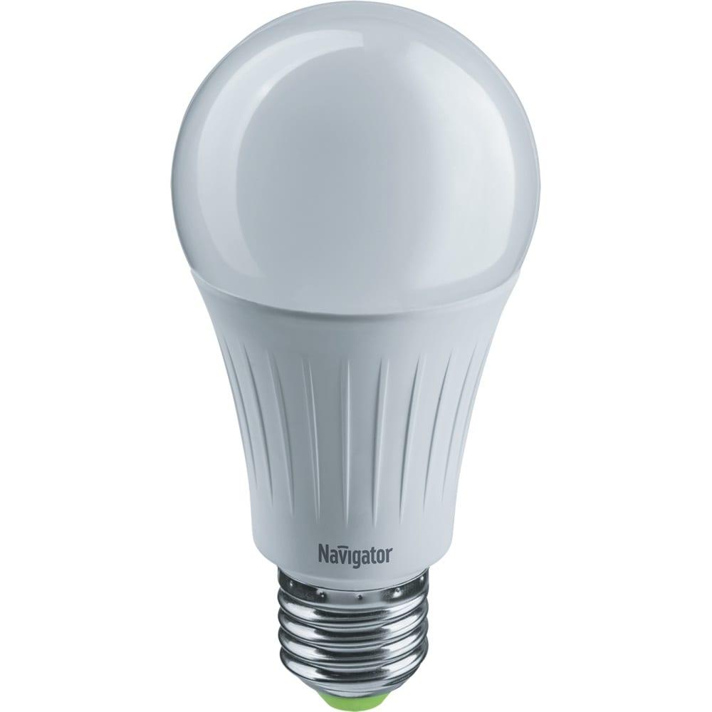 Лампа navigator nll-a60-10-230-3color-e27 61625