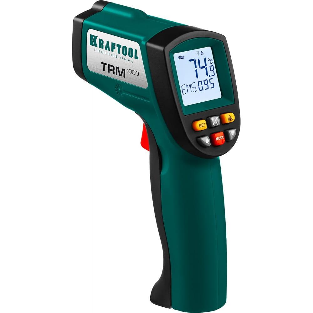 Инфракрасный пирометр kraftool trm-1000 45703-950