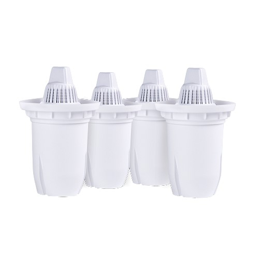 Комплект универсальных картриджей ecosoft наша вода 3+1 для фильтров-кувшинов crvkab4