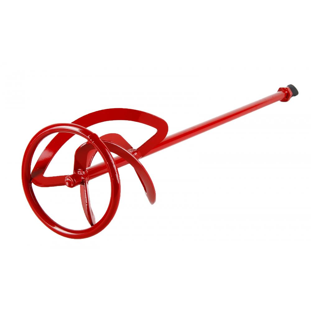 Венчик окрашенный под резьбу для смешивания краски flex 221-008 mx-ac (140х600 мм) для миксера hammer 52571