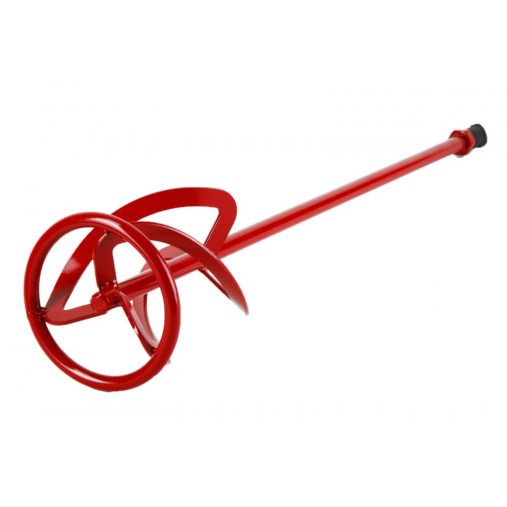 Венчик окрашенный под резьбу для смешивания краски flex 221-007 mx-ac (120х600 мм) для миксера hammer 52570