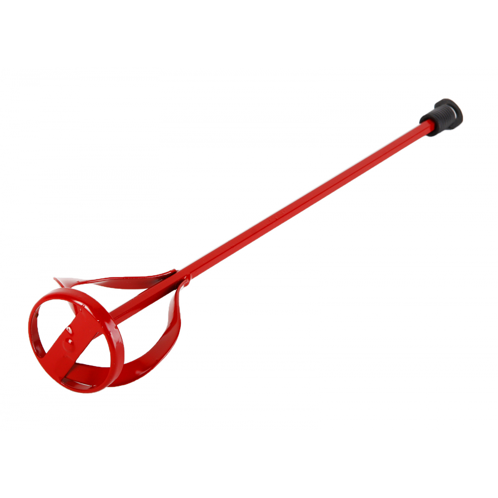 Венчик окрашенный для смешивания краски flex 221-009 mx-ac (60х400 мм) для миксера hammer 52567