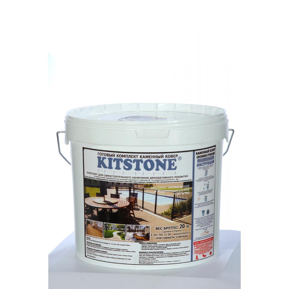 Каменный ковер - декоративное покрытие kitstone цвет bristol 1810121