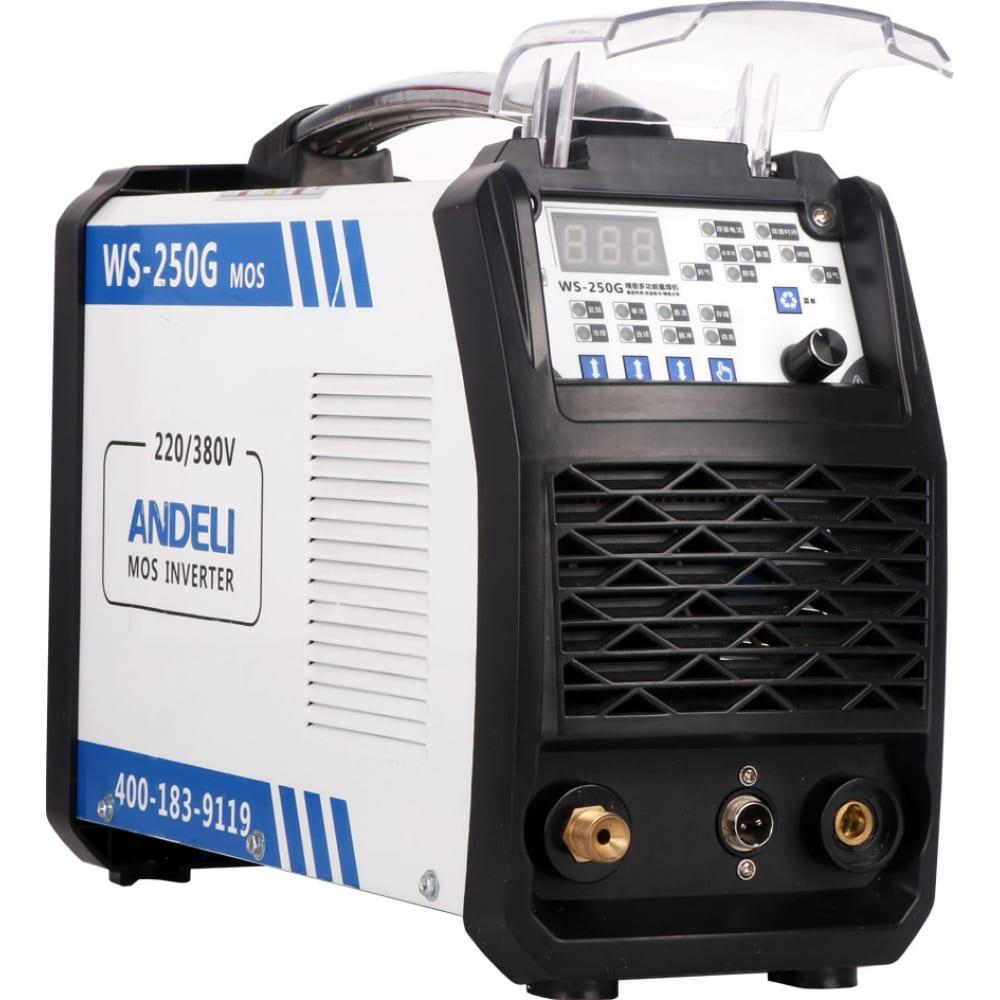 Купить Сварочный аппарат andeli tig-250mpl adl20-106