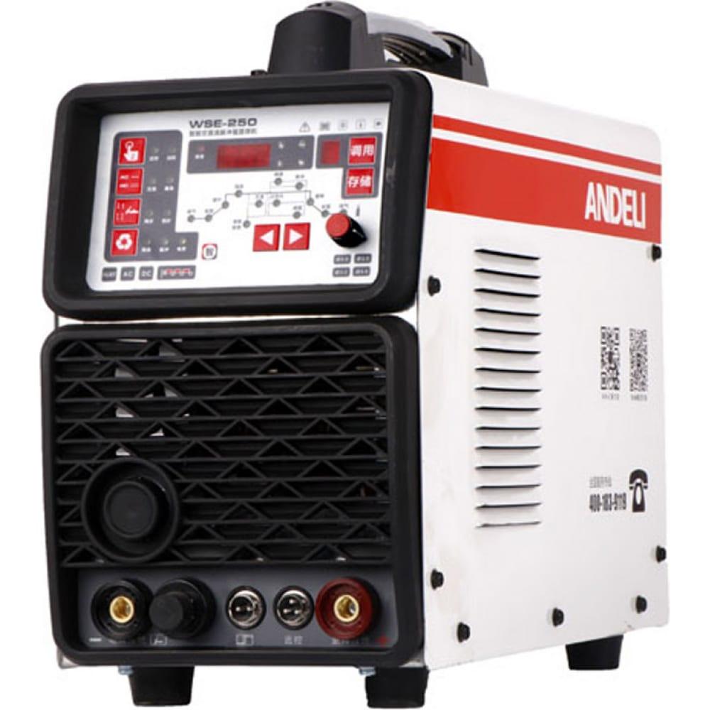 Купить Сварочный аппарат andeli tig-250pace adl20-102