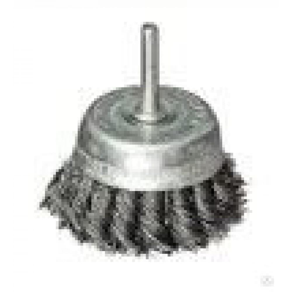 Купить Щетка металлическая со шпилькой крученая чашка 65 мм для дрели on 20-02-265