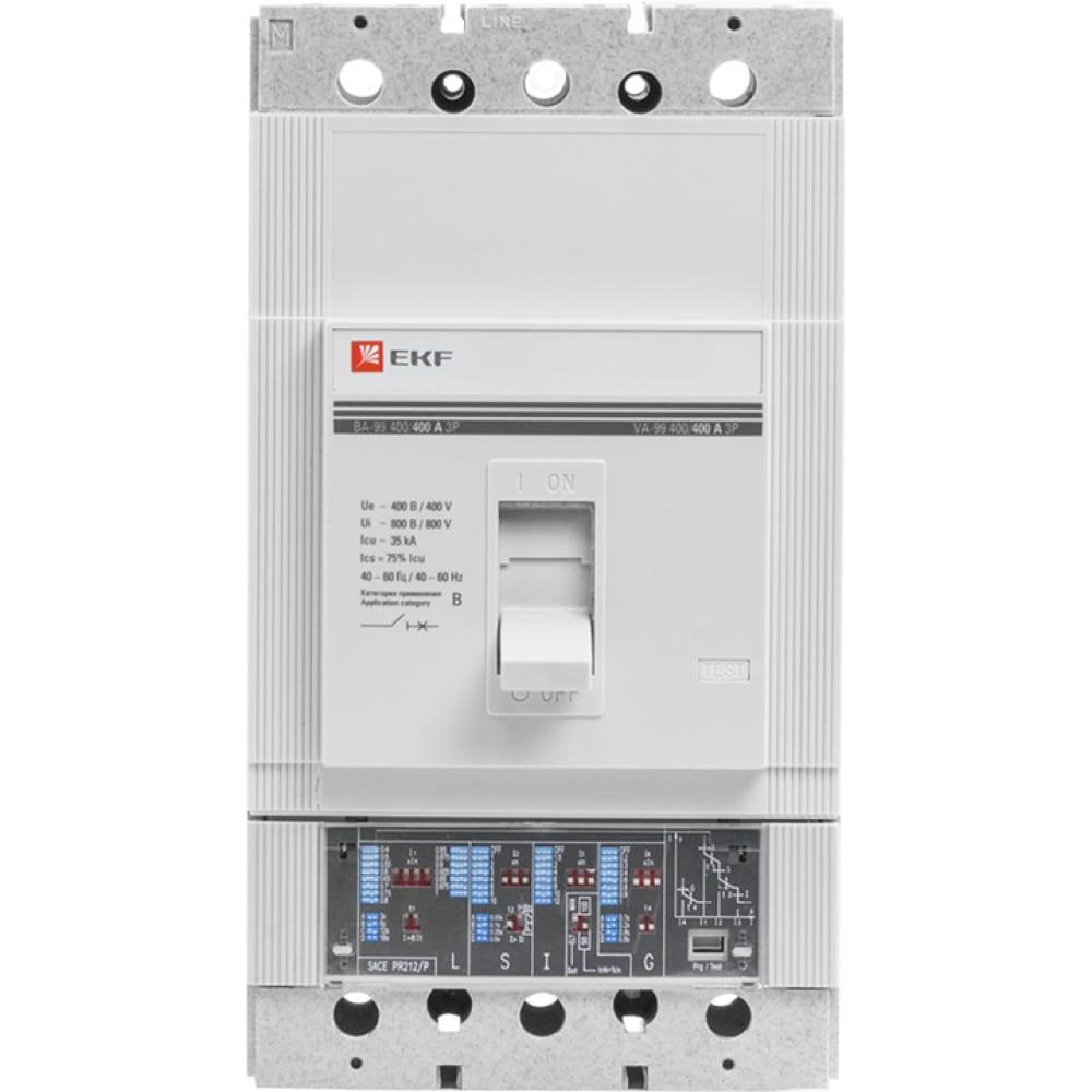 Автоматический выключатель с электронным расцепителем ekf ва-99 250/250а, 3p, 35ка sqmccb99-250-250e