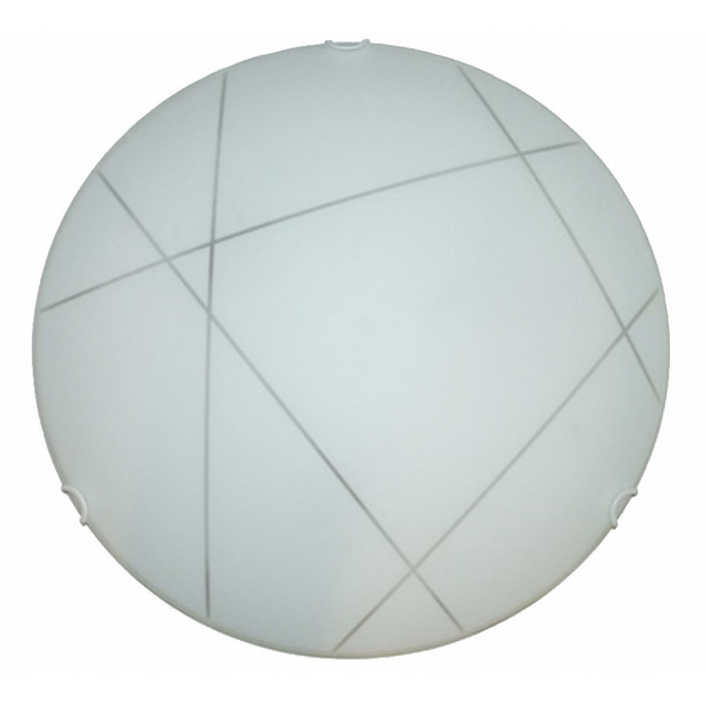 Купить Настенно-потолочный светильник электроприбор луна ф40 контур молир прозрачный 3х60 1321-5101-00