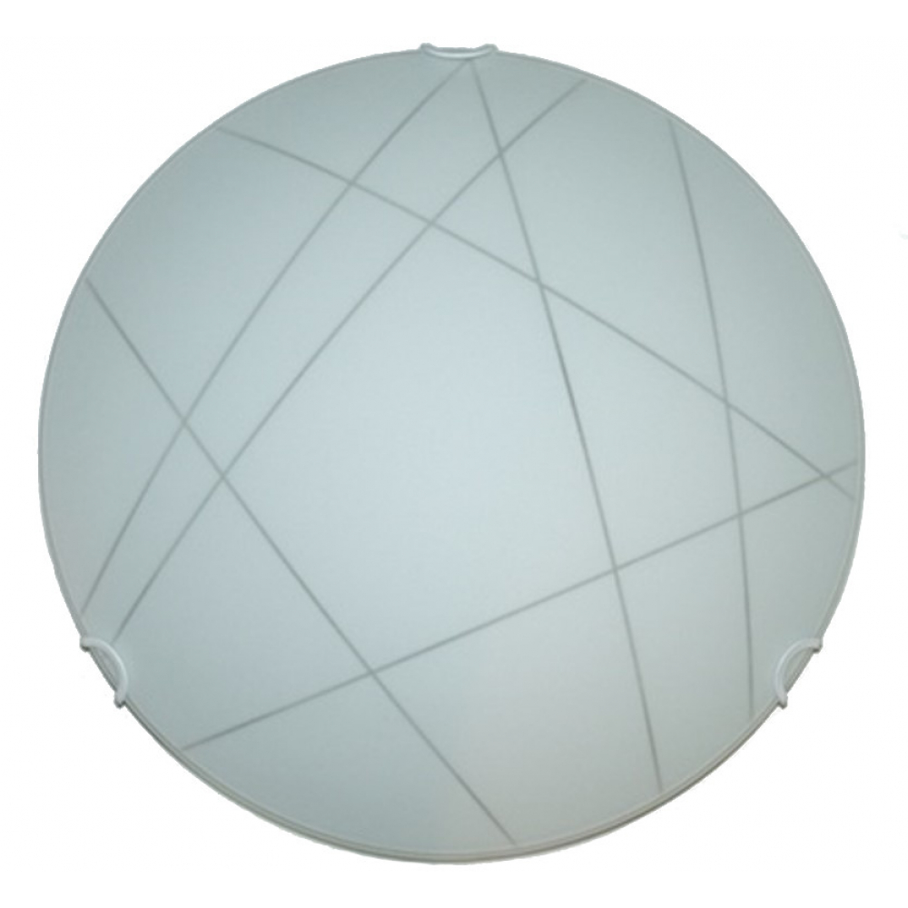 Купить Настенно-потолочный светильник электроприбор луна ф30 контур молир прозрачный 1221-5101-00