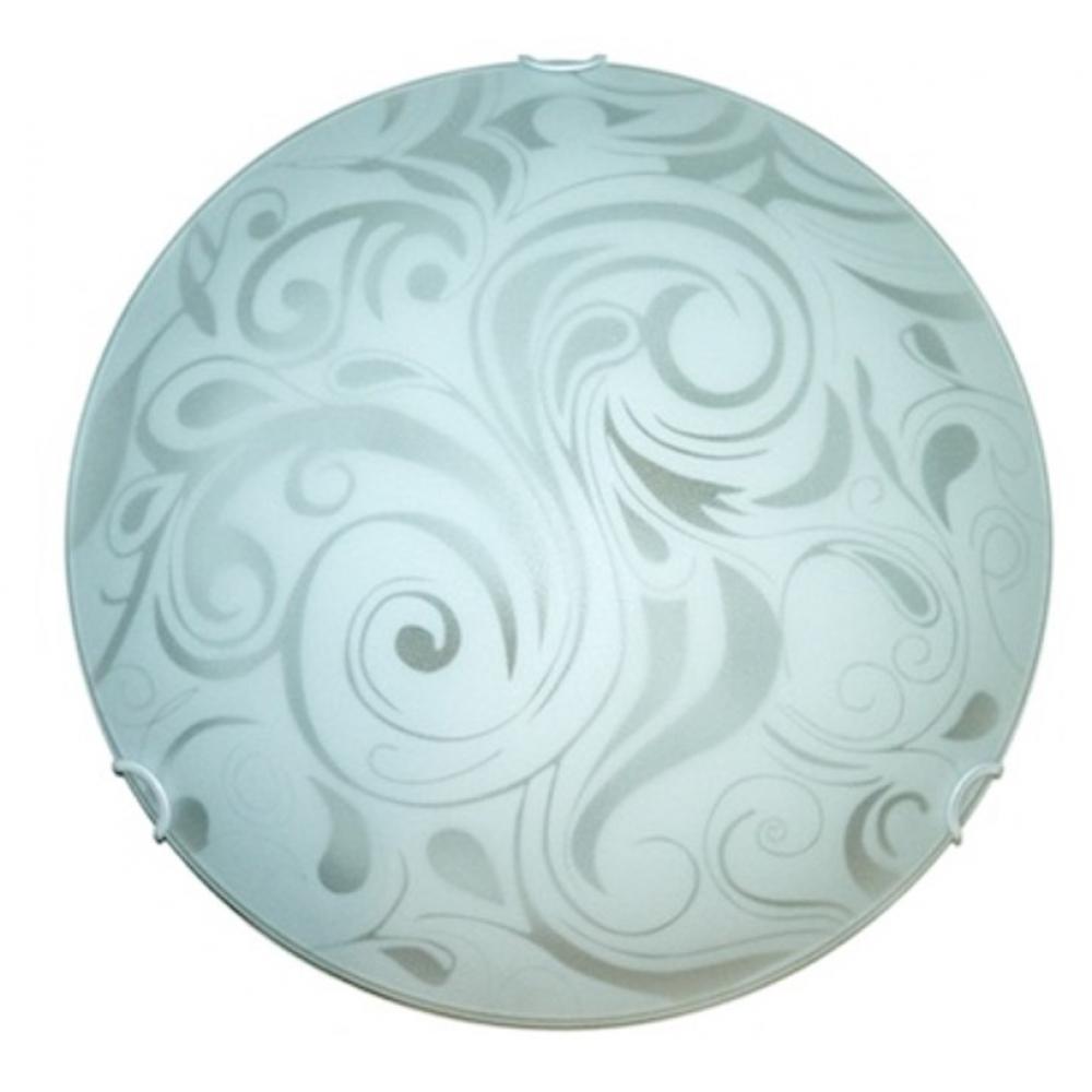Купить Настенно-потолочный светильник электроприбор луна ф30 иней молир прозрачный 1221-2901-00