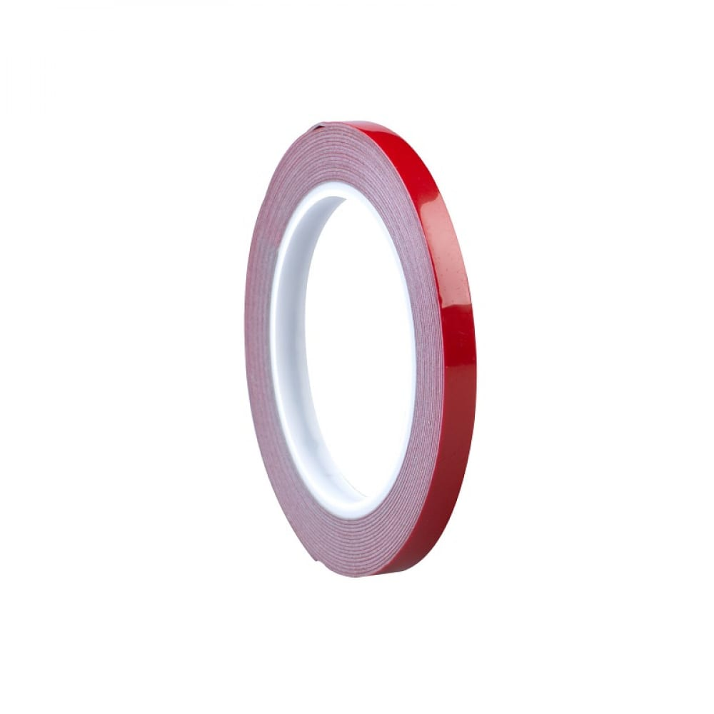 Купить Пеноакриловая двусторонняя лента roxelpro толщина 0, 8 мм, 6ммх5м, серая 512311