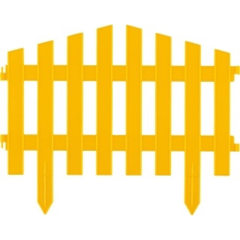 Купить Декоративный забор palisad марокко , 28x300 см, желтый palisad россия 65031