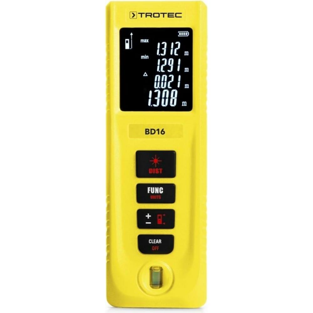 Лазерный дальномер trotec bd16 3510205154