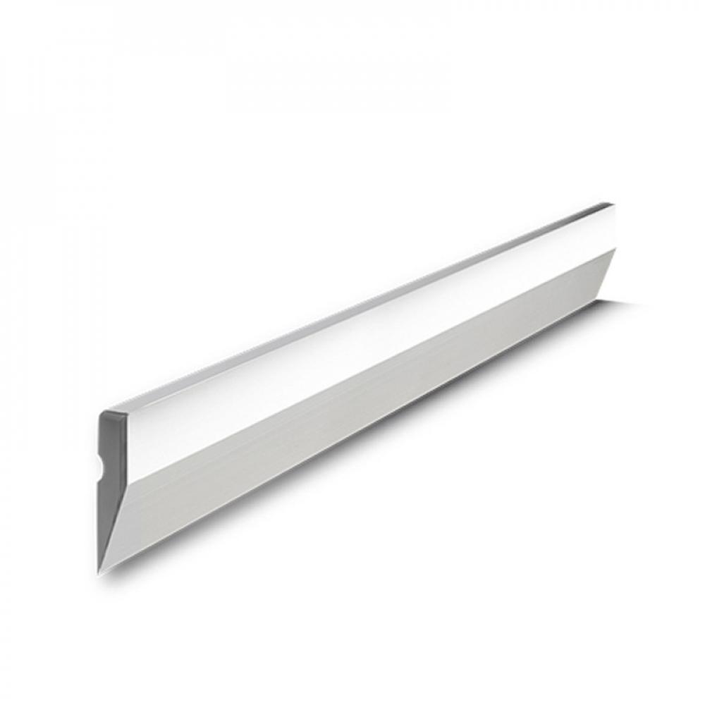 Купить Алюминиевое правило biber трапеция ребром жесткости 1, 0м тов-177861